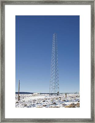 Cellphone Tower Framed Print by David Buffington