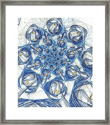 Cells Framed Print by Anastasiya Malakhova