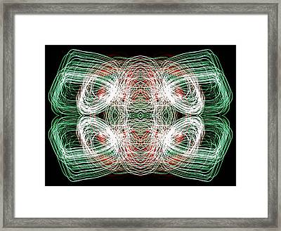 Cellular Hiccup Framed Print by John Cardamone