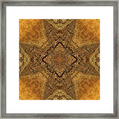 Celtic Mandala Abstract Framed Print by Georgiana Romanovna