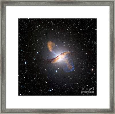 Centaurus A Black Hole Framed Print by Nasa