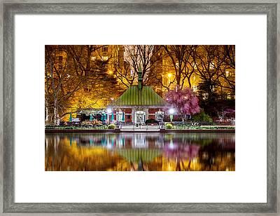 Central Park Memorial Framed Print by Az Jackson