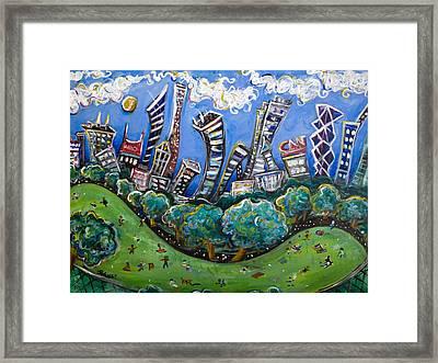 Central Park South Framed Print by Jason Gluskin