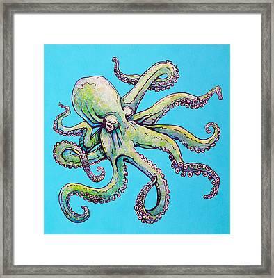 Cephalopod Framed Print by Jacob Medina