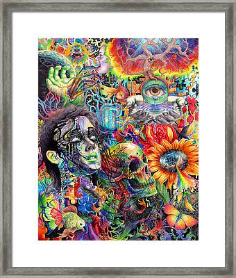 Cerebral Dysfunction Framed Print by Callie Fink