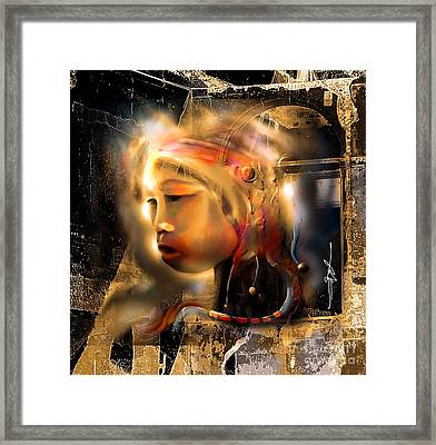 Ceremonial Queen  Framed Print by Bob Salo