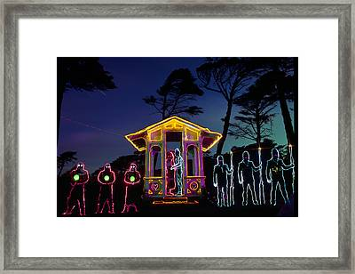 Ceremony At Sutro Heights Framed Print by Garry Gay