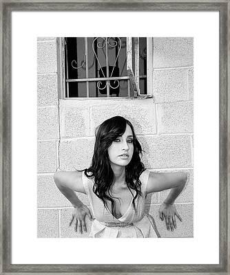 Cesira Palm Springs Framed Print by William Dey