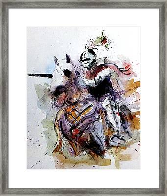Chaaarge Framed Print by Steven Ponsford