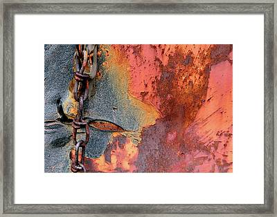 Chained Framed Print by Doug Hockman Photography