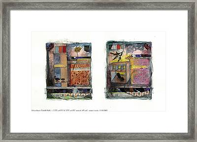 Chair Pair Framed Print by Kim Iberg