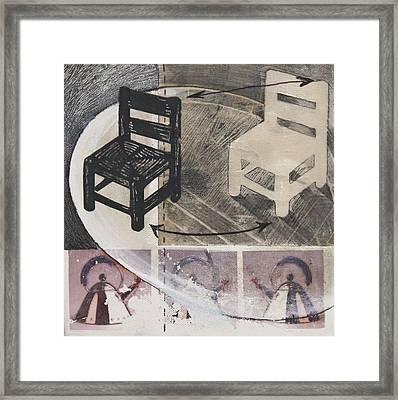 Chair Xi Framed Print by Peter Allan