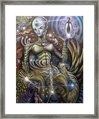 Chakra Connection Framed Print by John Shook