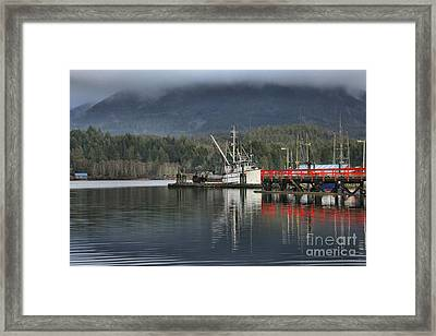 Challenger At Rest Framed Print by Adam Jewell