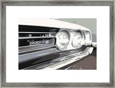 Challenger Framed Print by Darrell Foster