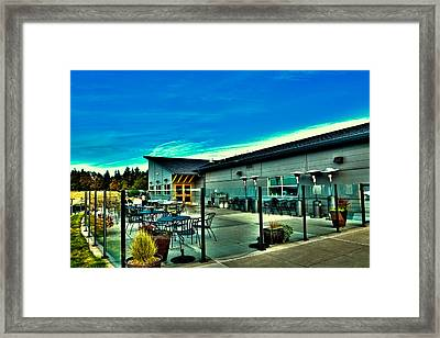 Chambers Bay - Clubhouse And Restaurant Framed Print by David Patterson