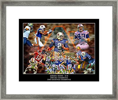 Champions Framed Print by Lance Curry
