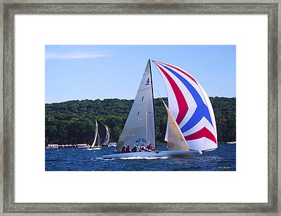 Champs - Lake Geneva Wisconsin Framed Print by Bruce Thompson