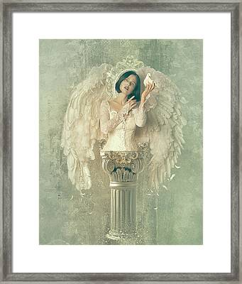 Chamuel Framed Print by Mary Hood