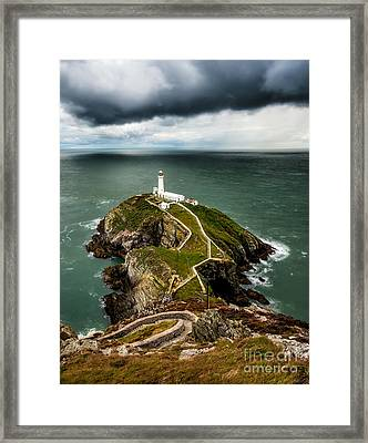Chance Of Rain Framed Print by Adrian Evans