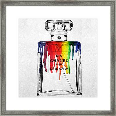 Chanel  Framed Print by Mark Ashkenazi