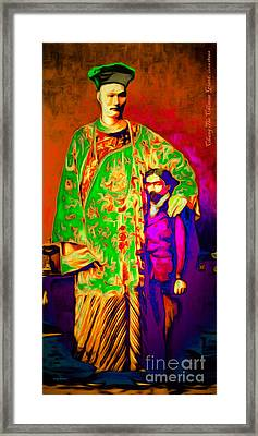 Chang The Chinese Giant 20151222 Long Framed Print by Wingsdomain Art and Photography