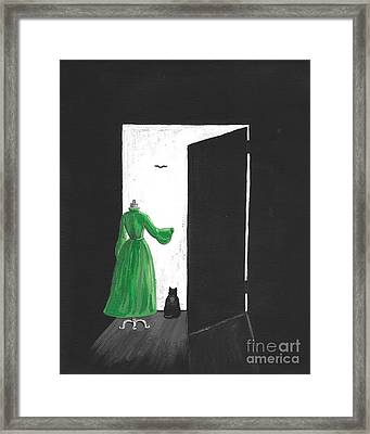 Changes Framed Print by Margaryta Yermolayeva