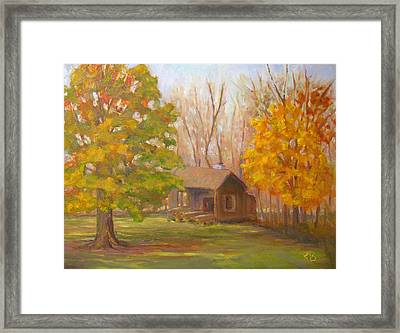 Changing Season Framed Print by Robie Benve