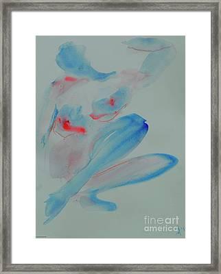 Chantal Framed Print by Dorota Zukowska
