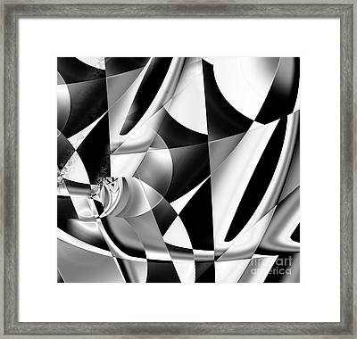 Chaos Kitchen Framed Print by Mindy Sommers