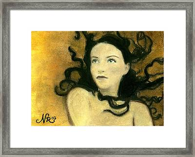 Chaos Theory Framed Print by Natalie Roberts