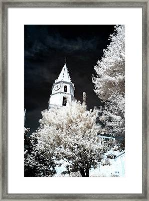 Chapel Accoules In Marseille Framed Print by John Rizzuto