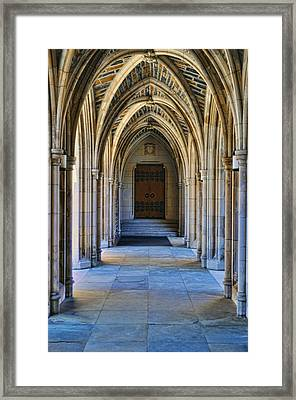 Chapel Arches Framed Print by Paulette B Wright