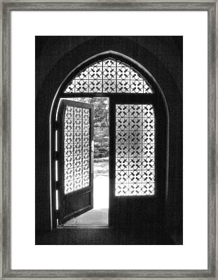 Chapel Door Framed Print by Steven Ainsworth