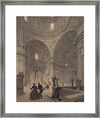 Chapel Of St Ignatius Of Loyola Framed Print by Felix Benoist