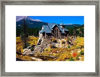 Chapel On The Rock  Framed Print by James BO  Insogna