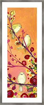 Chaperoning Framed Print by Jennifer Lommers