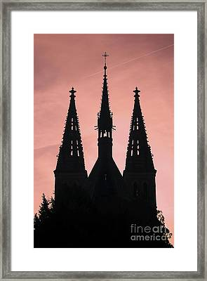 Chapter Church Of St Peter And Paul Framed Print by Michal Boubin