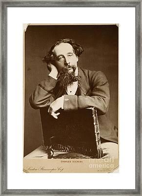 Charles Dickens Framed Print by Granger