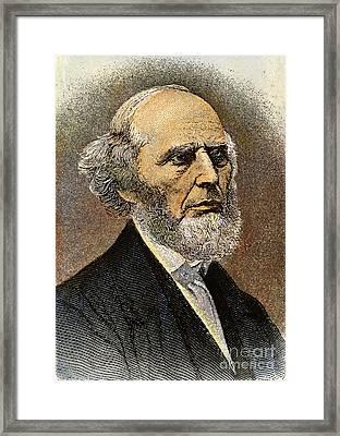 Charles Grandison Finney Framed Print by Granger