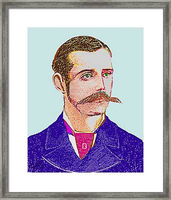 Charles Marvin Smith Framed Print by Cliff Wilson
