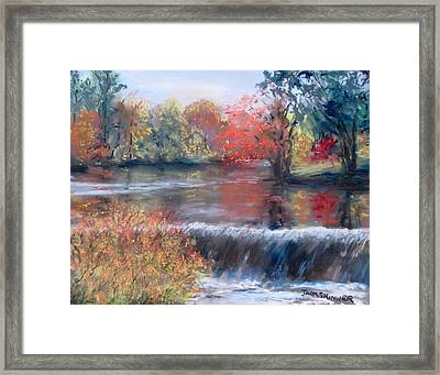 Charles River, Natick Framed Print by Jack Skinner