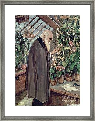 Charles Robert Darwin Framed Print by John Collier