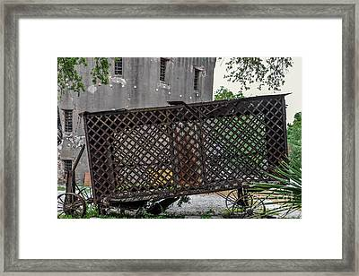 Charleston Horse Paddy Wagon  Framed Print by Dale Powell