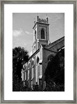 Charleston Unitarian Church Framed Print by Dustin K Ryan