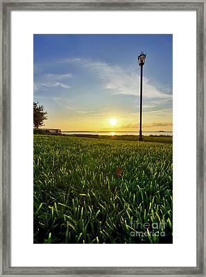 Charleston Waterfront Park Sunrise 3 Framed Print by Dustin K Ryan