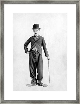 Charlie Chaplin, 1925 Framed Print by Everett