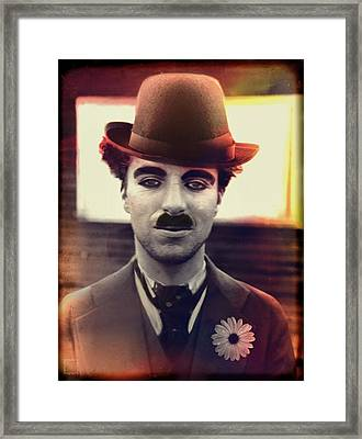 Charlot Lights And Warm Feelings Framed Print by Daniel Arrhakis