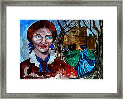 Charlotte Bronte's Jane Eyre I Framed Print by Genevieve Esson