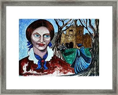 Charlotte Bronte's Jane Eyre II Framed Print by Genevieve Esson